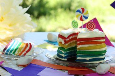 """Торта """"Дъга"""""""