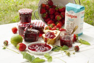 Лесно сладко от ягоди с лайм